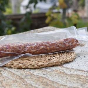 Salchichón cular envasado al vacío