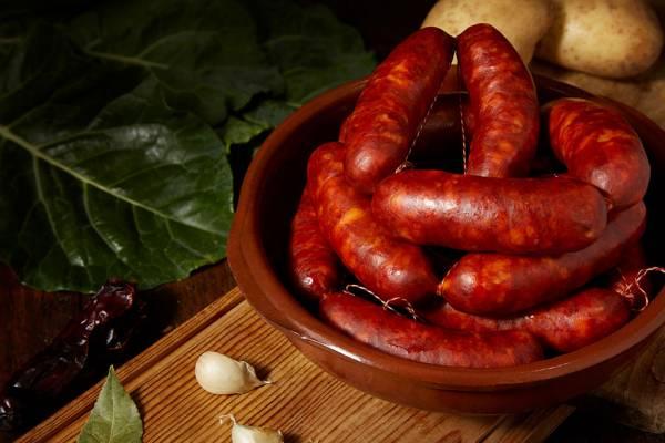 Chorizo gallego fresco de Embutidos García Marcos