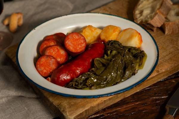 Chorizo gallego fresco cocido de Embutidos García Marcos